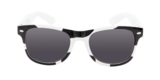 Kinder zonnebril met koeienprint _