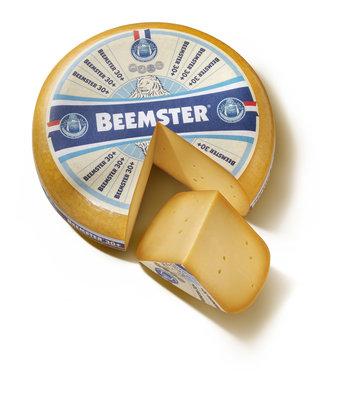 Beemster 30+ Oud, hele kaas € 8,29 per kilo