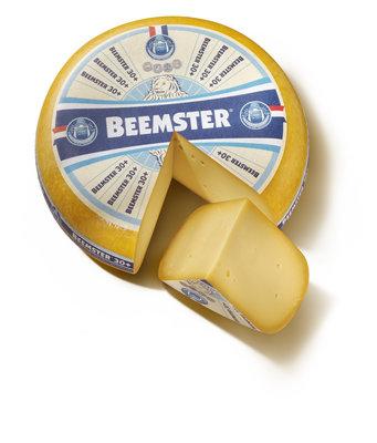 Beemster 30+ Belegen, hele kaas € 7,49 per kilo
