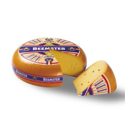 Beemster Jong Belegen 48+ hele kaas, € 5,99 per kg
